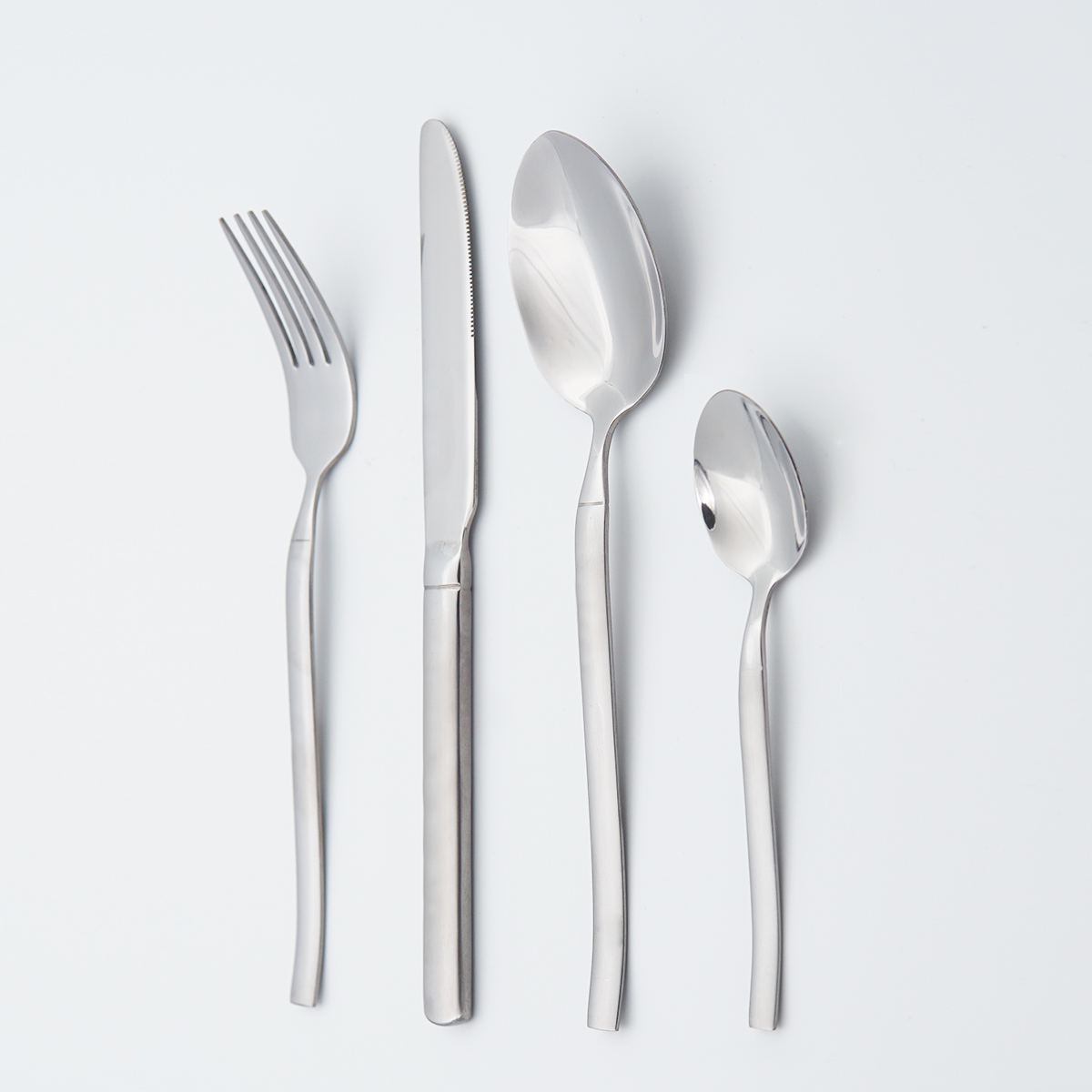 High Grade silverware flatware 18/10 Stainless Steel cutlery set For Wedding Restaurant