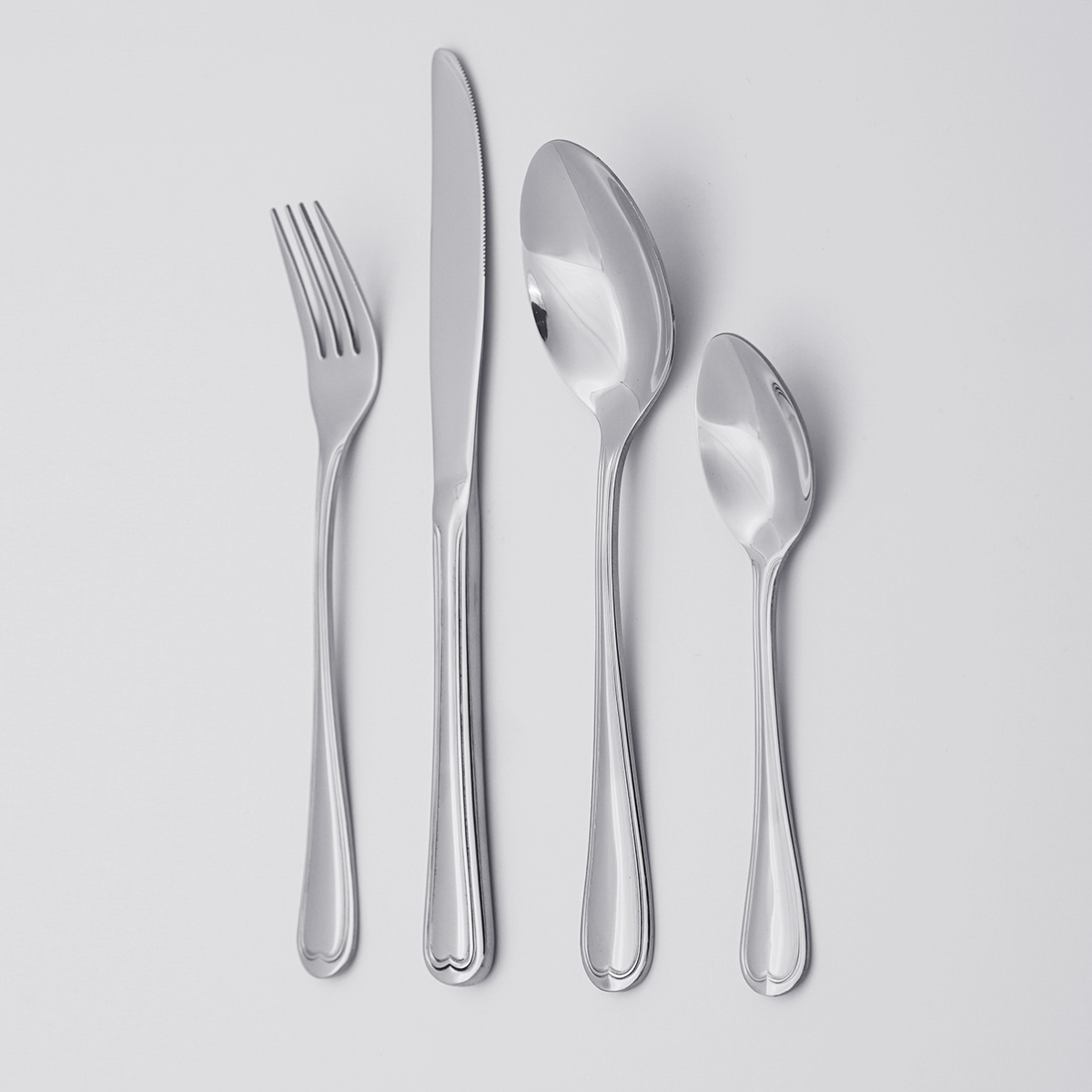 Wholesale Bulk Stainless Steel Knife Spoon Fork Serving Cutlery For Restaurant Hotel