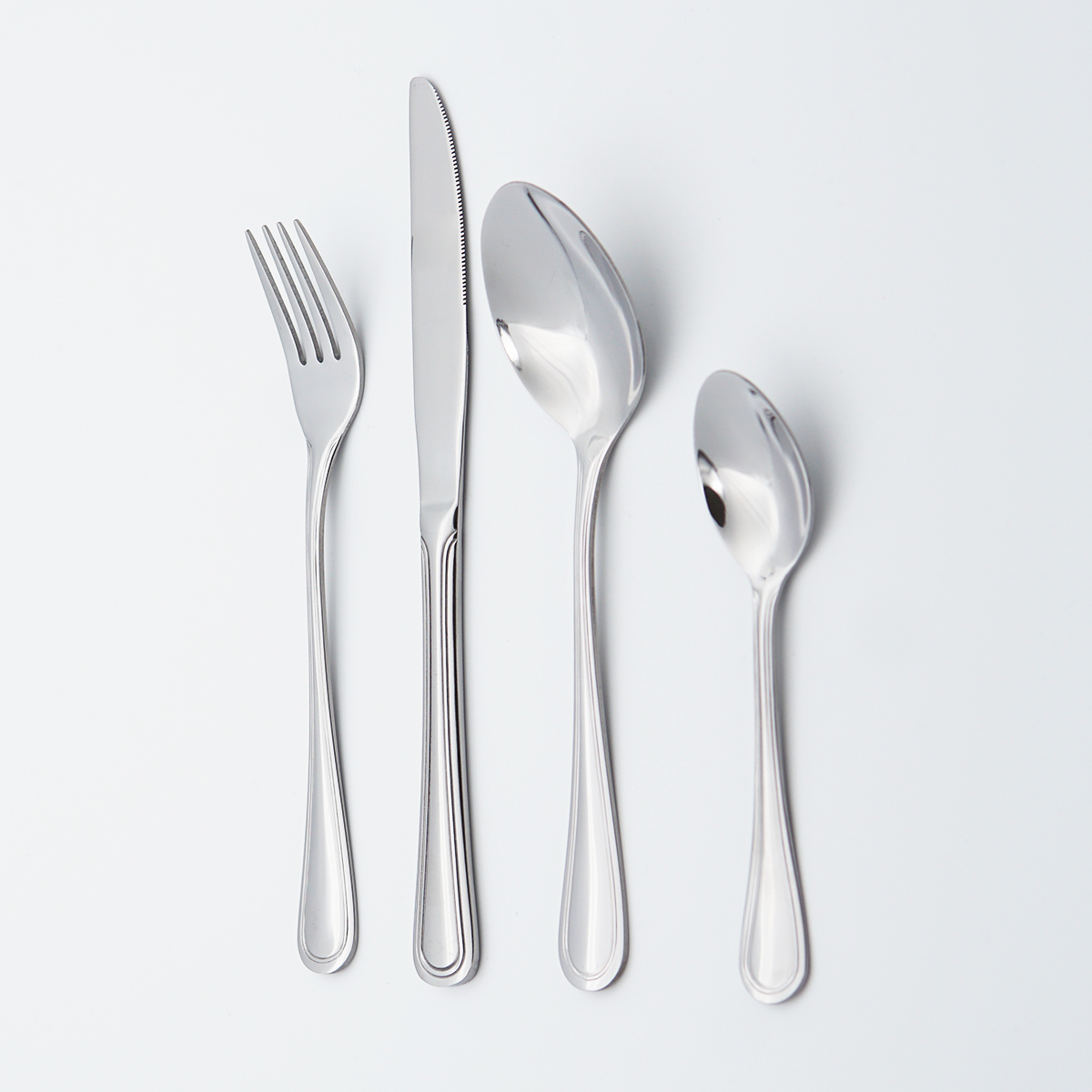 High Quality Thick Exquisite Handle Silverware Flatware Wholesale 18/10 stainless Steel Cutlery Set