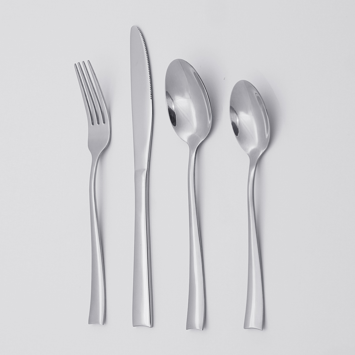Hot Sell Creative 304 Stainless Steel Silverware Flatware Cutlery Sets for Restaurant