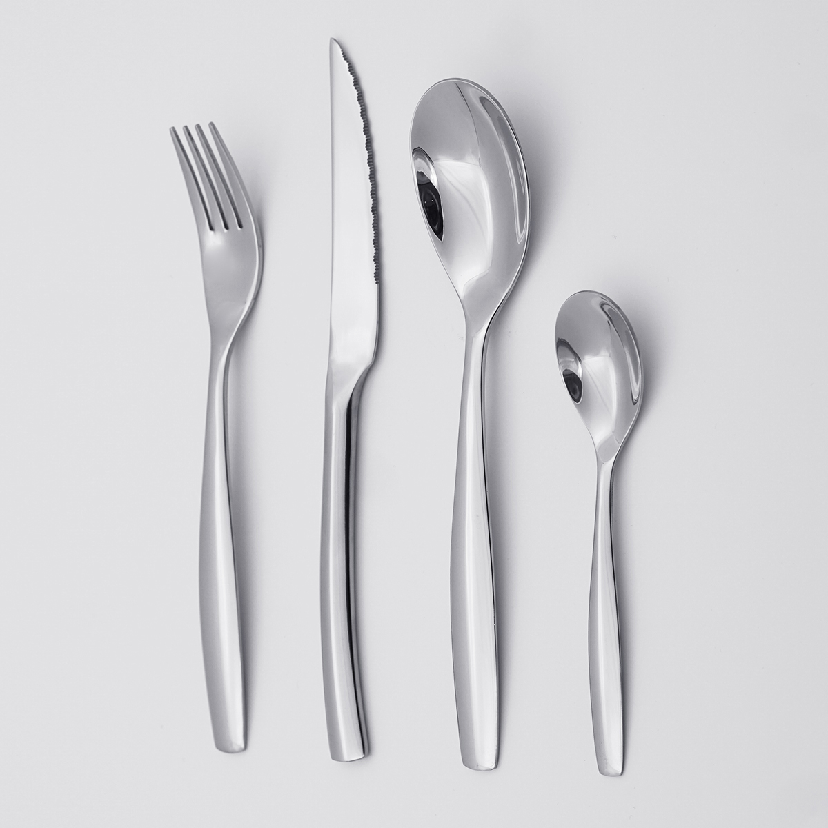 Wholesale High Quality Low MOQ Cheap Price Flatware Set Silverware Stainless Steel Cutlery for Restaurant Hotel