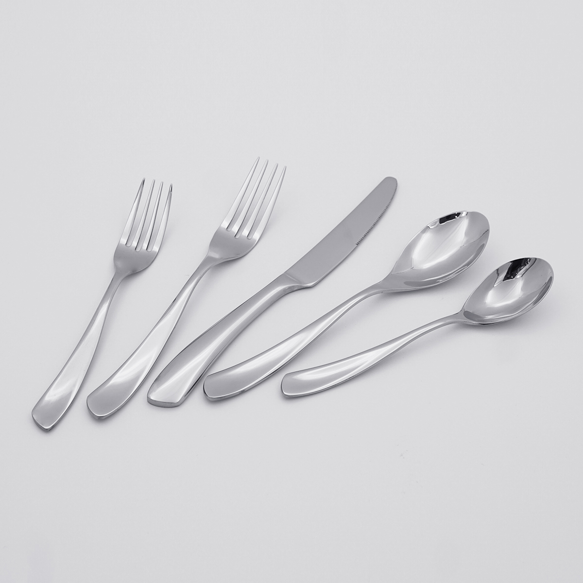 Unique Design Creative Cutlery 304 Stainless Steel Silverware Flatware Sets for Restaurant