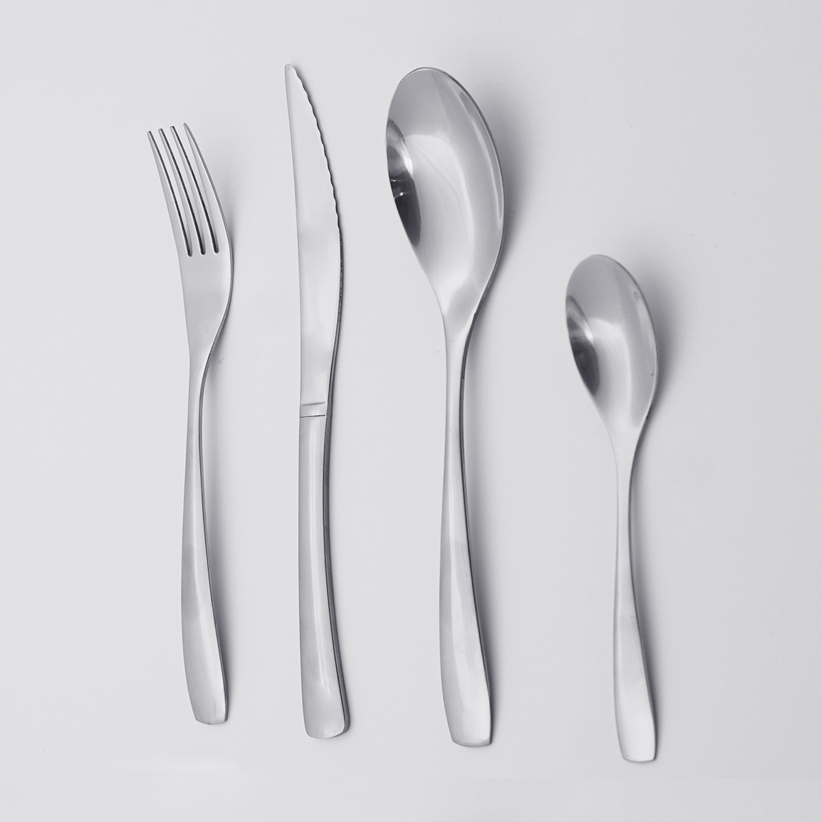 Factory Wholesale Good Quality Cheap Price Silverware Flatware Reusable Cutlery 18/8 Stainless Steel Cutelery Set