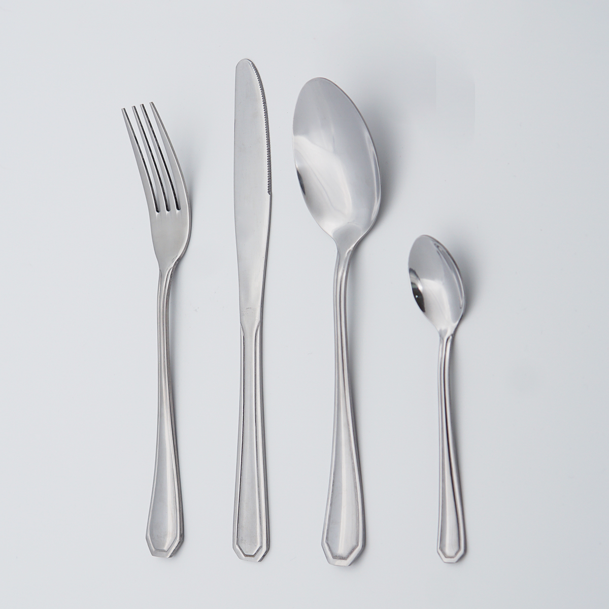 Wholesale Serving Spoon High Mirror Polish Unique Stainless Steel Cutlery Set