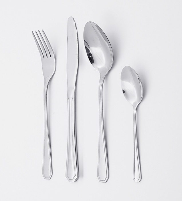 Wholesale Elegant Mirror Polish Food Grade Stainless Steel Cutlery Flatware Silverware Set for Restaurant Hotel