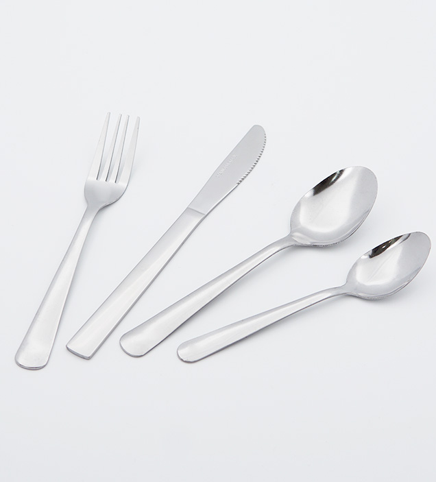 QZQ Stainless Steel Cutlery Low MOQ Cheap Flatware Set Silverware Wholesale for Restaurant Hotel