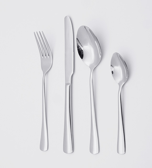 QZQ High Quality Stainless Steel Cutlery Flatware Set Silverware Wholesale for Restaurant Hotel
