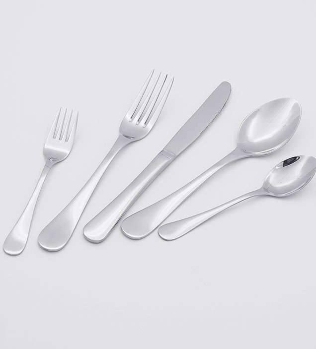 QZQ Classic Design Stainless Steel Cutlery Flatware Set Silverware Wholesale for Restaurant Hotel Amazon