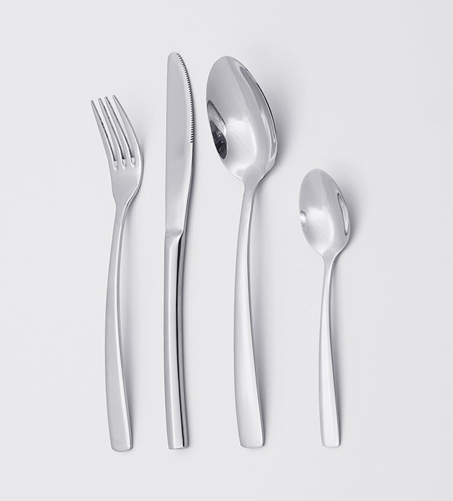 QZQ High Quality Stainless Steel Cutlery Low MOQ Cheap Flatware Set Silverware Wholesale for Restaurant Hotel