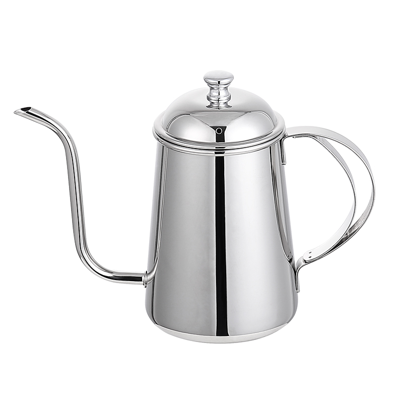 Factory Wholesale 304 Stainless Steel Gooseneck Pour Over Drip Coffee Kettle