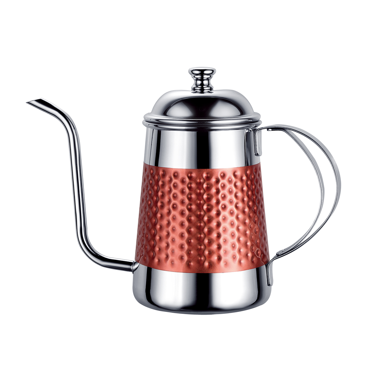 New Design 304 Stainless Steel Gooseneck Pour Over Drip Coffee Kettle