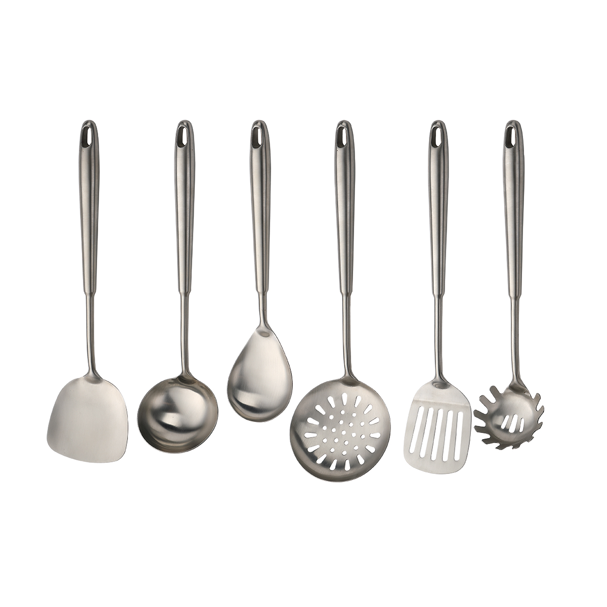 SUS304 top quality Kitchenware Stainless steel kitchen cooking utensils set